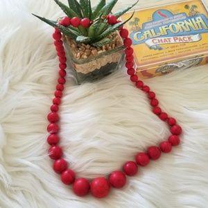 Jewelry - Red Stone Fashion Jewelry